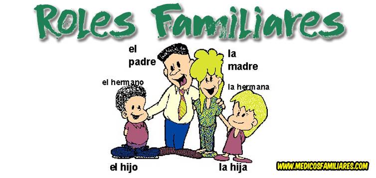 El Rol En La Familia Roles Familiares Familia